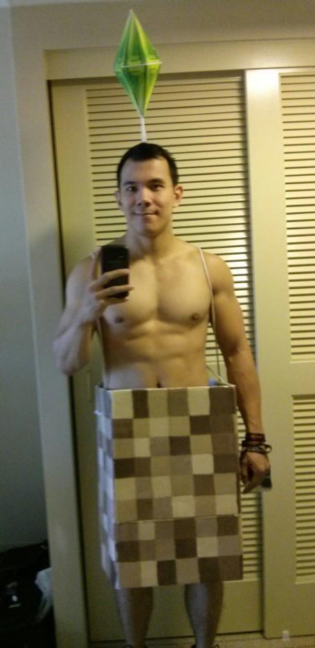 Sims naked sim 14